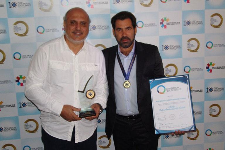 2016: Nos otorgan el Premio Latinoamericano de Calidad 2016