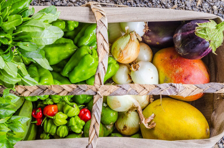 Vegetales y verduras frescos: salud en colores